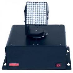MOVING HEAD CU LEDURI , CAP MOBIL LUMINI DISCO PE LED , MODEL 1 .