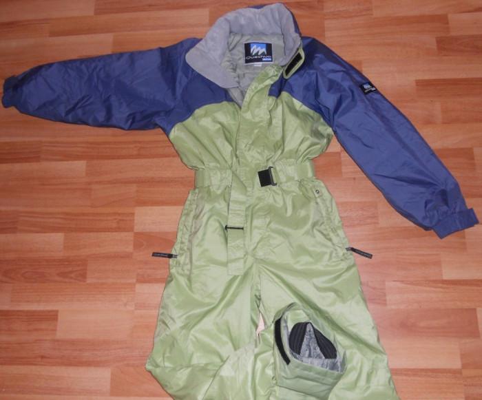 Combinezon / Costum ski / schi / snowboard / zapada DECATHLON - Marime 150cm / 12A foto mare