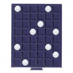 PVC Numis MBS cutie pentru 48 monede, dimensiune 24mm