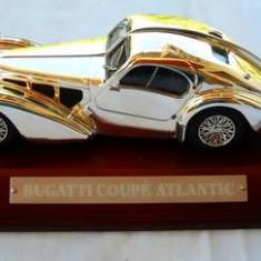2440.Macheta Bugatti Coupe Atlantic Silver Cars scara 1:43 - Macheta auto