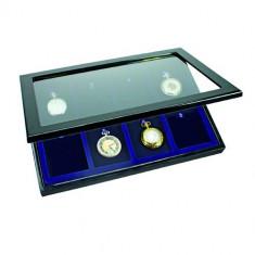 SAFE cutie Vitrine LUX pentru 8 vechi ceasuri - Cutie Ceas