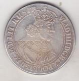 Bnk mnd Polonia Danzig Taler 1643  - REPLICA , cupru argintat