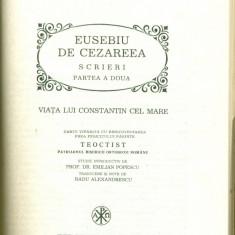 Parinti si Scriitori Busericesti 14- EUSEBIU DE CEZAREEA - SCRIERI-partea a doua - Carti bisericesti