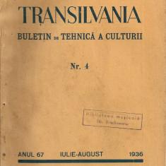 Transilvania ( buletin de tehnica a culturii ) - Anul 67, Nr. 4, 1936