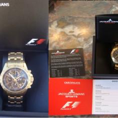 Ceas J.Lemans Sports Formula 1, GP Chrono 5015, editie limitată, nou la cutie - Ceas barbatesc Jacques Lemans