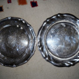 Platou metalic foarte vechi - antichitati - Metal/Fonta, Vase