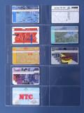 Importa V 5x2 PVC foi de rezerva , A4 pentru phone cards - 10 buc.