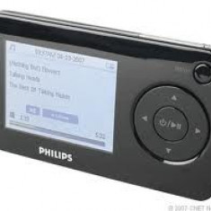Vand MP4 - Mp4 playere Philips, 4GB, Negru