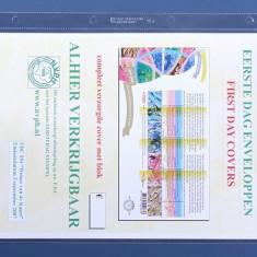 Importa PVc foi de rezerva 1 V, A 4, pentru documente mare, banknote - 10 buc.