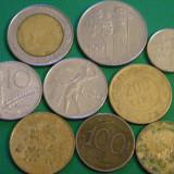 Lot Italia 9 monede diferite, Europa