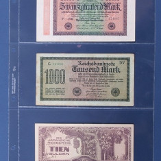Importa V 3 foi PVC de rezerva, A4 pentru banknote - 10 buc. Oferta mai buna