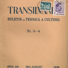 Transilvania ( buletin de tehnica a culturii ) - Anul 69, Nr. 3 - 4, 1938