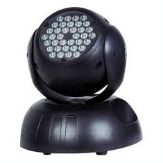 MOVING HEAD PROFESIONAL 36 LED X 1 LUMINA DISCO INTELIGENTA. - Moving heads club