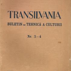 Transilvania ( buletin de tehnica a culturii ) - Anul 71, Nr. 3-4, 1940
