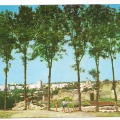 Carte postala(ilustrata)-SUCEAVA-cetatea - Carte Postala Moldova dupa 1918, Circulata, Printata