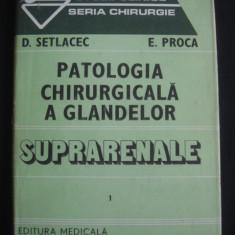 D. SETLACEC, E. PROCA - PATOLOGIA CHIRURGICALA A GLANDELOR SUPRARENALE volumul 1