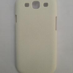 Husa plastic / Carcasa protectie pentru Samsung Galaxy S3 i9300 culoare alb+folie protectie Cadou!! - Husa Telefon
