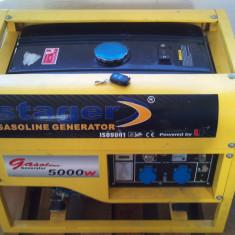 Generator de curent cu telecomanda si cheie Model Stager GG 7500 E+B - Generator curent, Generatoare cu automatizare