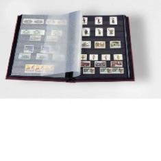Leuchtturm clasoar pentru timbre - 8 file/16 pagini negre