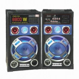 SET boxe amplificate/active ,BASS 12 INCH,MIXER INCLUS,EFECTE VOCE,ORGA LUMINI,MP3 PLAYER+MICROFOANE BONUS! 320 WATT.