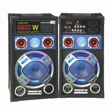 SET boxe amplificate/active ,BASS 12 INCH,MIXER INCLUS,EFECTE VOCE,ORGA LUMINI,MP3 PLAYER+MICROFOANE BONUS! 320 WATT.