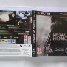 Medal of Honor (PS3) (ALVio) + sute de alte jocuri PS3 ( VAND / SCHIMB ) include pe disc si jocul Medal of honor Frontline remasterizat, Shooting, 18+