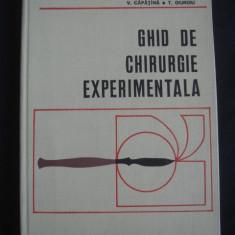 V. CAPATINA, T. GIURGIU - GHID DE CHIRURGIE EXPERIMENTALA