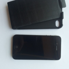 Apple IPHONE 4 16 GB neverlock nota 9.5/10, Negru, Neblocat