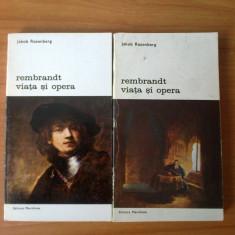 E1 Jakob Rosenberg - Rembrandt viata si opera (2 volume)