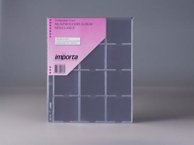 PVC foi  pentru mare cartonase 60x60 mm/dim. 40,43,48,53 mm/ - 10 buc. in pachet foto