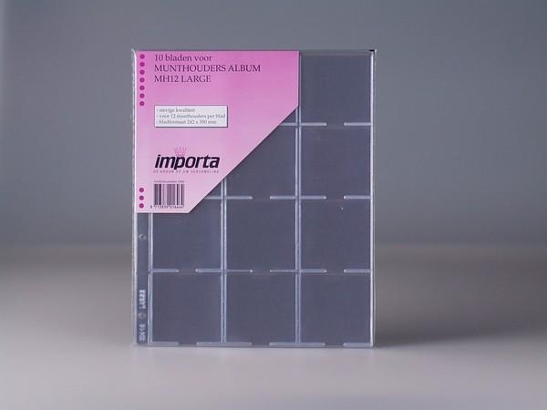 PVC foi  pentru mare cartonase 60x60 mm/dim. 40,43,48,53 mm/ - 10 buc. in pachet