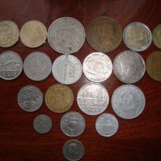 Vand colectie monede+bonus Bancnota - Jubiliare