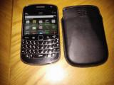 Vand BlackBerry 9900 Bold. Stare perfecta de functionare,husa originala,aspect ingrijit. Rog seriozitate!, Negru, 8GB, Neblocat