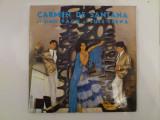 Disc vinil vinyl pick-up MEDIU Electrecord CARMEN DE SANTANA SI FRATII PACO