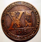 5.470 TIB XI TARGUL INTERNATINAL BUCURESTI COMERT COOPERARE PACE 1985 60mm