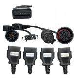 Set cabluri diagnoza OBD2 camioane pentru tester universal Autocom Delphi