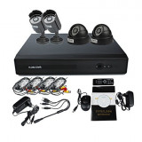 Sistem supraveghere video 2014 - 4CH DVR KIT-1 - Oferta Pret si Transport Gratuit !!!