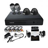 Sistem supraveghere video 2014 - 4CH DVR KIT-1 - Oferta Pret si Transport Gratuit !!! - Camera CCTV, Exterior, Cu fir, Digital, Color, Box/Body