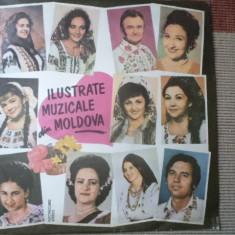 Ilustrate muzicale din moldova disc vinyl lp Muzica Populara electrecord folclor romanesc, VINIL