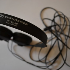 SENNHEISER HD 25SP casti, Casti On Ear, Cu fir, Mufa 3, 5mm, Active Noise Cancelling