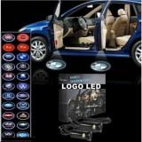 Cumpara ieftin Set 2 SIGLE/LOGO auto cu marca masinii tale! PROIECTOARE SIGLA CU LED ,ULTIMA FITZA IN TUNING AUTO!