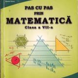 PAS CU PAS PRIN MATEMATICA - CULEGERE PT CLASA A VII A de GABRIELA CONSTANTINESCU ED. CRIZON - Culegere Matematica