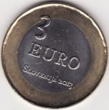 Moneda - Slovenia - 3 Euro 2013 - 300 ani de la revolta taranilor din Tolmin