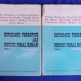 VINTILA DONGOROZ / CONSTANTIN BULAI - EXPLICATII TEORETICE ALE CODULUI PENAL ROMAN [ PARTEA GENERALA ] - VOL.1 + VOL.2  - ACADEMIA ROMANA - 1969-1970