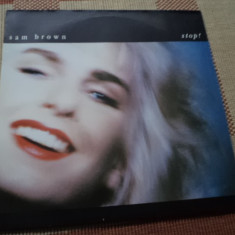 Sam Brown stop album muzica pop rock disc vinyl lp, VINIL