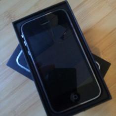 iPhone 3Gs Apple in cutie cu tot ce contine aceasta. Stare perfecta! Poze reale !!, Negru, 8GB, Neblocat