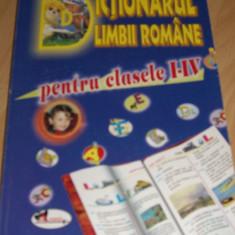 Dictionar Aramisul limbii romane pt clasele I - IV