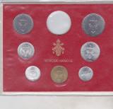Bnk mnd Vatican set monede necirculate 1971 - 1+2+5+10+20+50+100 lire