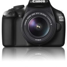 Kit Canon 1000D + blitz Speedlite 270EX - Aparat Foto Canon EOS 1100D, Kit (cu obiectiv)