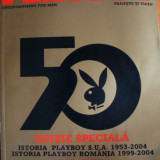 Playboy numar aniversar 50 Ani - Revista barbati